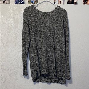 Black and White oversized sweater